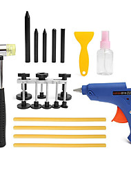 cheap -19pcs PDR Car Body Dent Repair Kit Hammer Puller Glue Gun Balance Bridge Scraper
