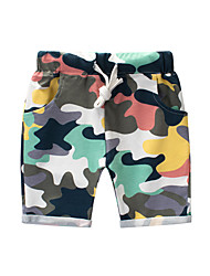 cheap -Kids Boys' Basic Print Print Cotton Shorts Rainbow