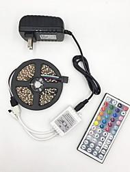 Недорогие -BRELONG® 5 метров Гибкие светодиодные ленты 300 светодиоды 2835 SMD RGB Можно резать / Для вечеринок / Декоративная 12 V 1шт / Компонуемый / Самоклеющиеся