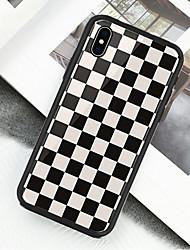 Недорогие -Кейс для Назначение Apple iPhone XS / iPhone XR / iPhone XS Max С узором Чехол Геометрический рисунок Твердый Акрил