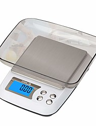cheap -3kg/0.1g High Definition For Children Portable Digital Jewelry Scale For Office and Teaching Home life Kitchen daily