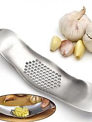 abordables -presse à ail en acier inoxydable broyage trancheur hachoir métal nouveauté concasseur de cuisine hachoir