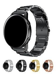 abordables -Bracelet de Montre  pour Samsung Galaxy Watch 42 Samsung Galaxy Boucle Classique Acier Inoxydable Sangle de Poignet