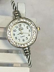 Недорогие -Жен. Часы-браслет На каждый день Мода Черный Белый Синий сплав Китайский Кварцевый Черный Красный Лиловый Повседневные часы Милый Аналоговый