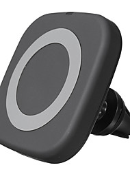 abordables -qi chargeur de voiture sans fil support de téléphone magnétique support de sortie d'air évent support360 ° rotation
