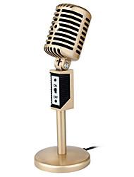 Недорогие -Микрофон Конденсаторный микрофон Проводное 50 ohm для студийной записи и вещания ПК Ноутбук