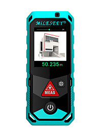cheap -P7 Bluetooth Laser Rangefinder Camera Finder Point Rotary Touch Screen Rechargerable Laser Distance Meter 150M
