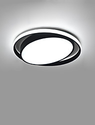 cheap -1-Light CONTRACTED LED® 42 cm Creative / New Design Flush Mount Lights Aluminum Circle / Geometrical Painted Finishes Artistic / Modern 110-120V / 220-240V