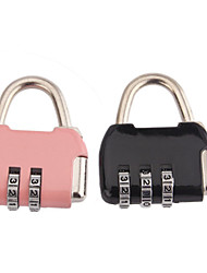 cheap -Coded Lock Luggage Accessory Metal 1 pc Rainbow Travel Accessory