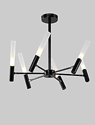 cheap -6-Light 56 cm Mini Style / LED Chandelier Metal Painted Finishes Vintage / Modern Contemporary 110-120V / 220-240V