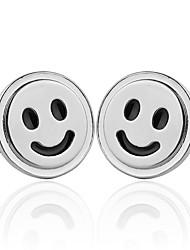 abordables -Fashion Jewelry Happy Smiley Face Nouveautés Quotidien Portable