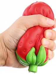 Недорогие -Резиновые игрушки Фрукт Декомпрессионные игрушки Поли уретан для Все