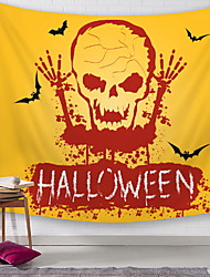 cheap -3D Halloween Classic Theme Wall Decor 100% Polyester Modern Wall Art, Wall Tapestries Decoration