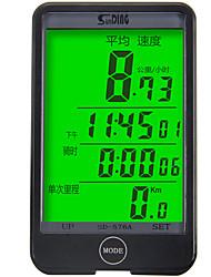 Недорогие -SunDing SD-576A Датчик модуляций скорости Водонепроницаемость Компактность Велоспорт Велосипеды для активного отдыха Односкоростной велосипед Велоспорт