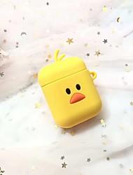 cheap -Ear Phone Bag Cute / Cartoon Toy / Adorable Silica Gel iPhone 8 Plus / 7 Plus / 6S Plus / 6 Plus