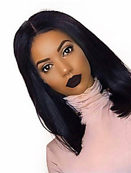 cheap -Dolago Short Bob Wigs Straight 250% Density with Baby Hair 13x6 Lace Front Human Hair Wigs for Black Women