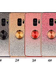 cheap -Case For Samsung Galaxy S9 / S9 Plus / S8 Plus Ring Holder / Ultra-thin / Glitter Shine Back Cover Color Gradient Soft TPU