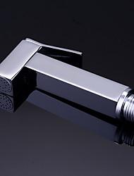 cheap -Bidet Faucet ElectroplatedToilet Handheld bidet Sprayer Self-Cleaning Traditional