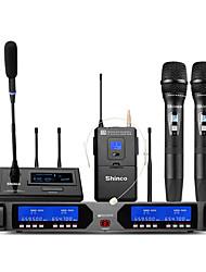 abordables -microphone de conférence microphone sans fil microphone à condensateur microphone de poche pour microphone de karaoké