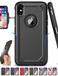 cheap -Phone Case For Apple Back Cover iPhone 12 Pro Max 11 SE 2020 X XR XS Max 8 7 6 Shockproof Armor Solid Color Armor Hard PC