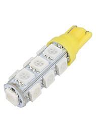 cheap -1pcs T10 Car Light Bulbs 5 W SMD 5050 13 LED Turn Signal Lights / Side Marker Lights / Brake Lights For Toyota / Benz / Honda All Models All years