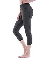 cheap -Women's High Rise Yoga Pants Fashion Running Fitness Tights Activewear Butt Lift Power Flex Stretchy Slim