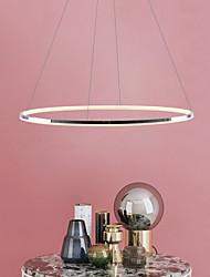 cheap -1-Light 80 cm Mini Style / LED Pendant Light Metal Acrylic Circle Electroplated Modern Contemporary 110-120V / 220-240V