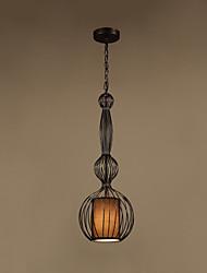 cheap -1-Light LED® Geometrical Lantern Pendant Light Downlight Painted Finishes Metal Eye Protection Creative 110-120V 220-240V