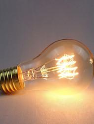 cheap -1pc 60 W E26 / E27 A60(A19) Yellow 2300 k Retro / Dimmable / Decorative Incandescent Vintage Edison Light Bulb 220-240 V