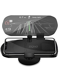 cheap -ZIQIAO Universal Mobile Phone Car Holder Projector HUD Head Up Display 7 Inch for Smart Mobile Phone