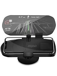 Недорогие -Ziqiao универсальный мобильный телефон автомобильный держатель проектор HUD Head Up Display 7 дюймов для смарт-мобильного телефона