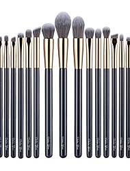 cheap -Professional Makeup Brushes 16pcs Eco-friendly Professional Soft Full Coverage Synthetic Artificial Fibre Brush Wooden / Bamboo for Eyeliner Brush Blush Brush Foundation Brush Makeup Brush Lip Brush