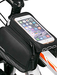 cheap -ROSWHEEL Cell Phone Bag Bike Frame Bag Top Tube 5.5 inch Touch Screen Cycling for iPhone 8 Plus / 7 Plus / 6S Plus / 6 Plus iPhone X iPhone XR Black Cycling / Bike / iPhone XS / iPhone XS Max