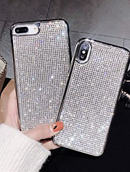 cheap -Case For Apple iPhone XS / iPhone XR / iPhone XS Max Rhinestone Back Cover Rhinestone Hard Acrylic