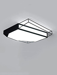 cheap -1-Light CONTRACTED LED® 45 cm Creative / New Design / Cool Flush Mount Lights Metal Acrylic Geometrical / Novelty Painted Finishes LED / Chic & Modern 110-120V / 220-240V