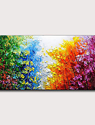 cheap -Oil Painting Hand Painted Abstract Landscape Classic Modern Rolled Canvas Rolled Without Frame