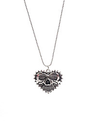 cheap -Skull Gothic Pendant Bib Statement Retro Bead Charm Necklace Classic Heart Jewelry