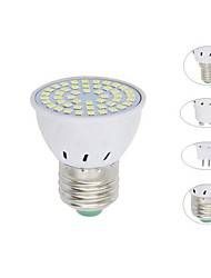 cheap -1pc 5 W LED Spotlight 500 lm E14 GU10 MR16 48 LED Beads SMD 2835 Decorative Warm White Cold White 220-240 V