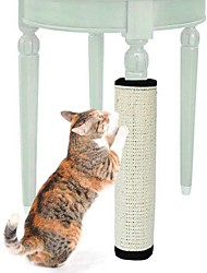 cheap -Scratching Board Cat Pet Toy 1pc Pet Friendly Collapsible Sisal Gift
