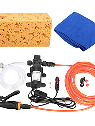 cheap -Portable 12V 60W 100PSI High Pressure Car Electric Washer Auto Wash Pump Kit Set
