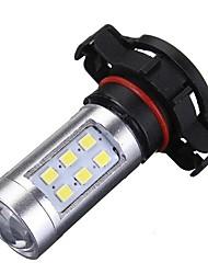 cheap -1pcs H16 Car Light Bulbs 21 W SMD 2835 2100 lm 21 LED Fog Lights / Daytime Running Lights For All years