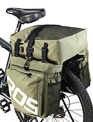 abordables -ROSWHEEL 35 L Sac de Porte-Bagage / Double Sacoche de Vélo 3 en 1 Ajustable Grande Capacité Sac de Vélo faux cuir 600D Polyester Sac de Cyclisme Sacoche de Vélo Cyclisme / Vélo / Etanche