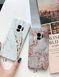 cheap -Case For Samsung Galaxy S9 / S9 Plus / S8 Plus Ultra-thin / Pattern Back Cover Marble Hard PC