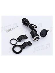 Недорогие -WOSAWE Мотоцикл Автомобильное зарядное устройство 1 USB порт для 12 V