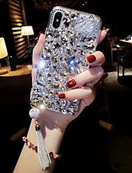 cheap -Phone Case For Apple Back Cover iPhone 12 Pro Max 11 Pro Max iPhone XR iPhone XS iPhone XS Max iPhone X iPhone 8 Plus iPhone 8 iPhone 7 Plus iPhone 7 iPhone 6s Plus Rhinestone Rhinestone Hard Acrylic