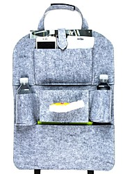 cheap -Auto Car Back Seat Storage Bag Organizer Trash Net Holder Multi-Pocket Travel Hanger for Auto Capacity Pouch Container 1pcs