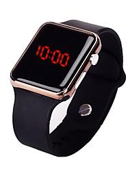 Недорогие -Муж. Спортивные часы Цифровой Pезина Черный 30 m Защита от влаги Творчество Новый дизайн Цифровой На каждый день Мода - Черный Розовое золото Лиловый / ЖК экран