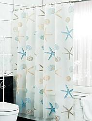 abordables -Rideaux de douche Moderne PEVA Imperméable Salle de Bain