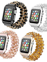 cheap -Smart Watch Band for Apple iWatch 1 pcs Jewelry Design PC Replacement  Wrist Strap for Apple Watch Series 7 / SE / 6/5/4/3/2/1