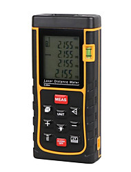 cheap -Laser Distance Meter with Bubble Level Tape Measure Device Ruler Test Tool 80M